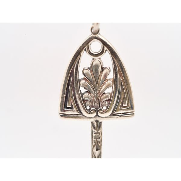 Hugo Kohl Silver Key Pendant  Image 2 Portsches Fine Jewelry Boise, ID