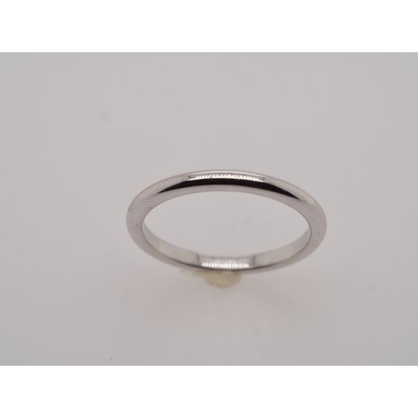 Simple White Gold Wedding Band Portsches Fine Jewelry Boise, ID