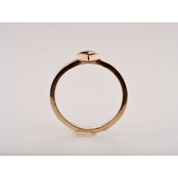 Ruby Gold Stacking Ring  Image 2 Portsches Fine Jewelry Boise, ID