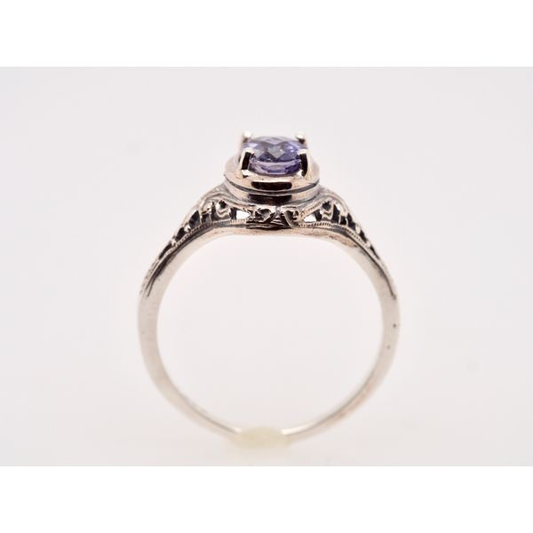 OV037 Tanzanite Silver Ring  Image 2 Portsches Fine Jewelry Boise, ID