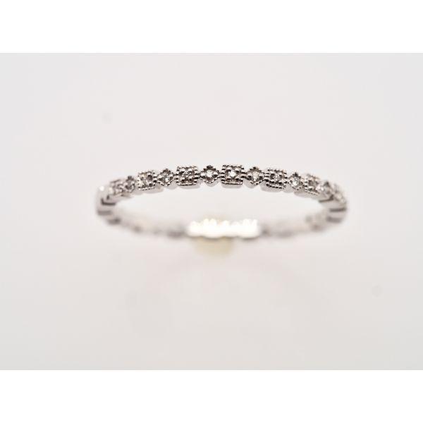 Geometric Milgrain Wedding Band  Portsches Fine Jewelry Boise, ID