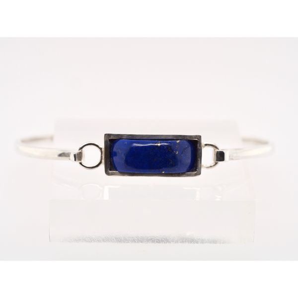 Sterling Silver Lapis Bangle  Portsches Fine Jewelry Boise, ID