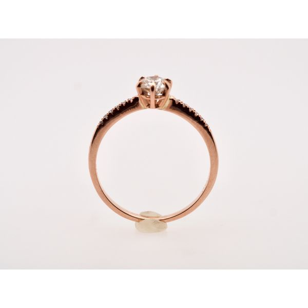 Dainty Rose Gold Ring Image 2 Portsches Fine Jewelry Boise, ID