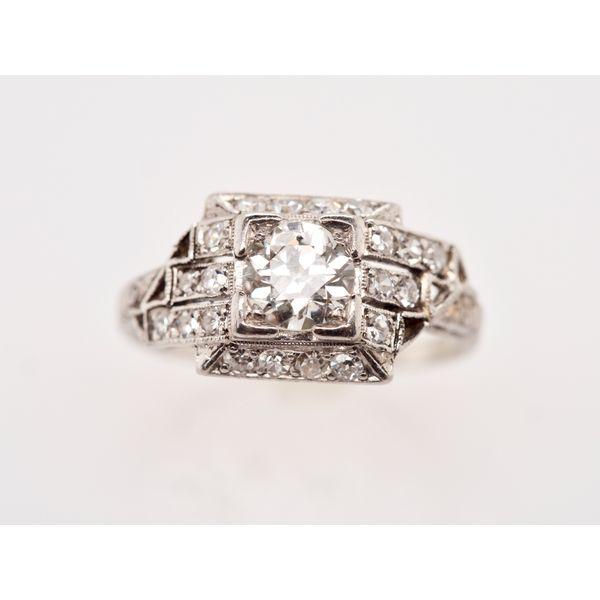Art Deco Platinum Ring  Portsches Fine Jewelry Boise, ID