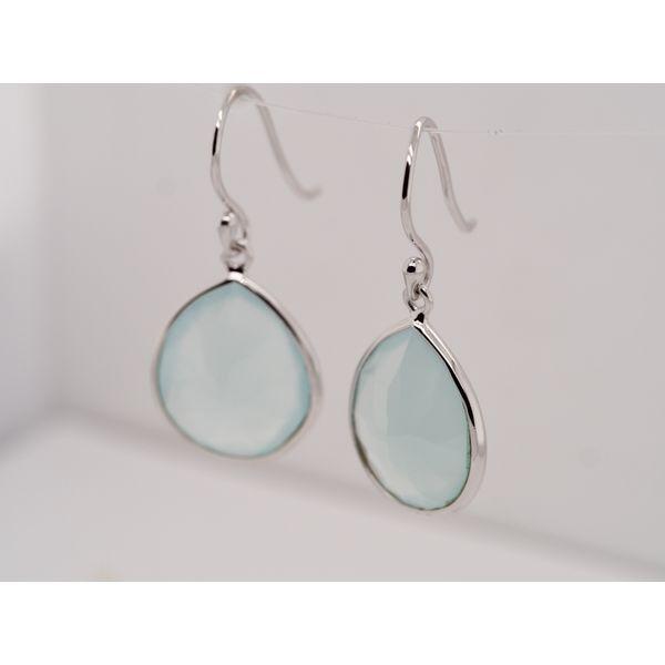 Aqua Chalcedony Drops  Image 3 Portsches Fine Jewelry Boise, ID