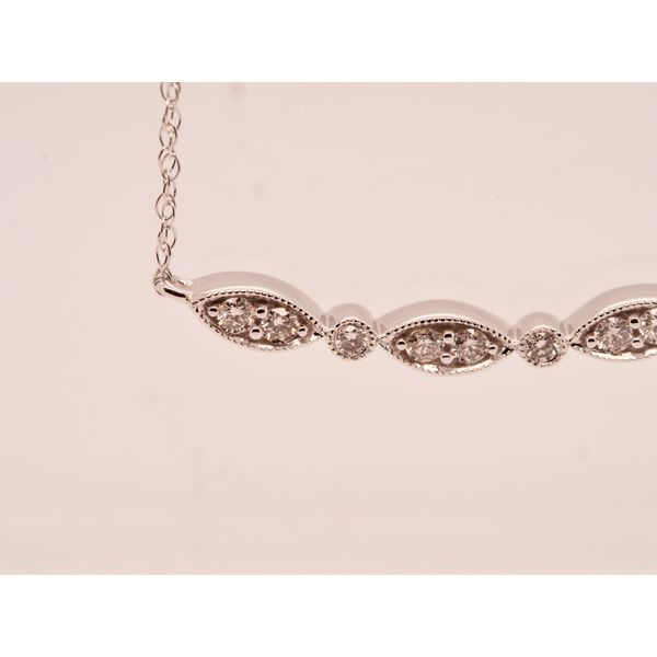 Marquise and Circle Diamond Necklace Image 2 Portsches Fine Jewelry Boise, ID