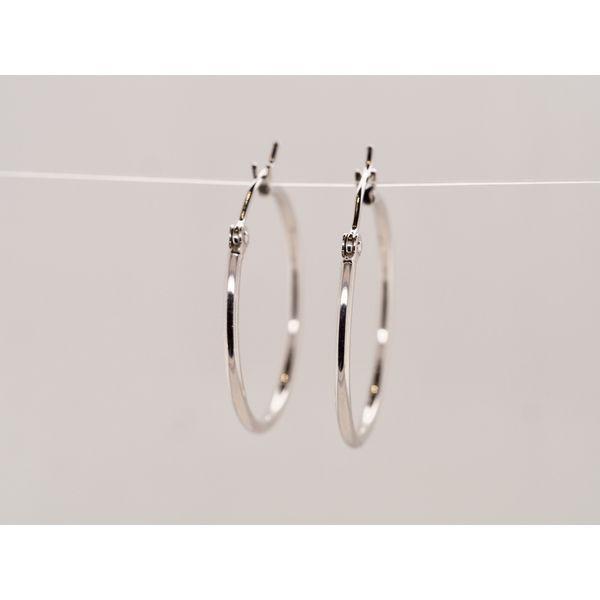 Gold Hollow Hoop Earrings  Portsches Fine Jewelry Boise, ID