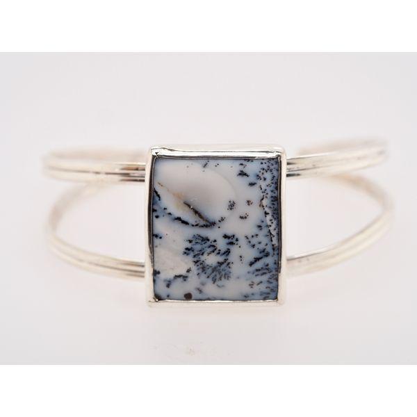 Agate Sterling Silver Cuff Bracelet  Portsches Fine Jewelry Boise, ID