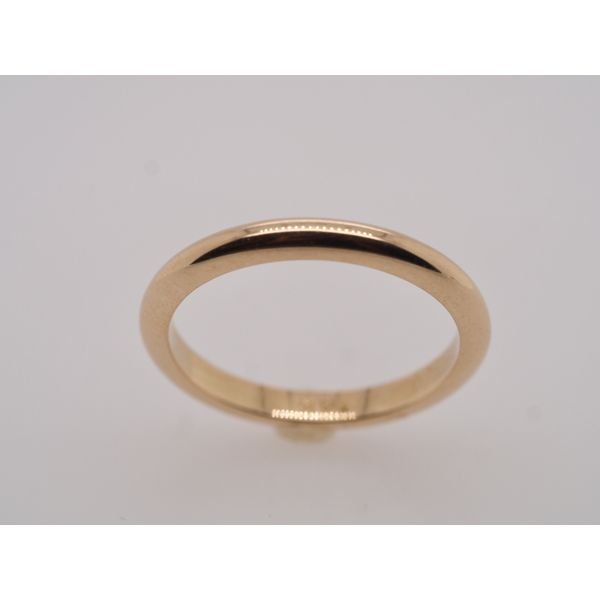 Simple Yellow Gold Wedding Band Portsches Fine Jewelry Boise, ID