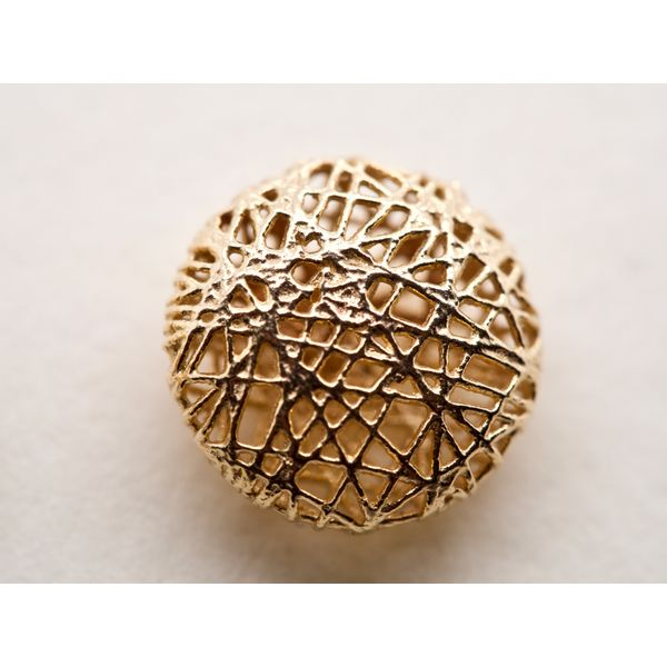 Abstract Gold Wire Round Studs Image 2 Portsches Fine Jewelry Boise, ID