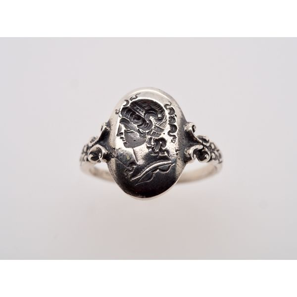 Goddess Head Oval Whimsy Ring Portsches Fine Jewelry Boise, ID