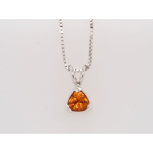 Spessartine Orange Garnet Pendant  Portsches Fine Jewelry Boise, ID