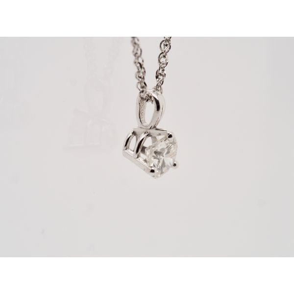 Solitaire 0.34ct Diamond Pendant  Image 2 Portsches Fine Jewelry Boise, ID