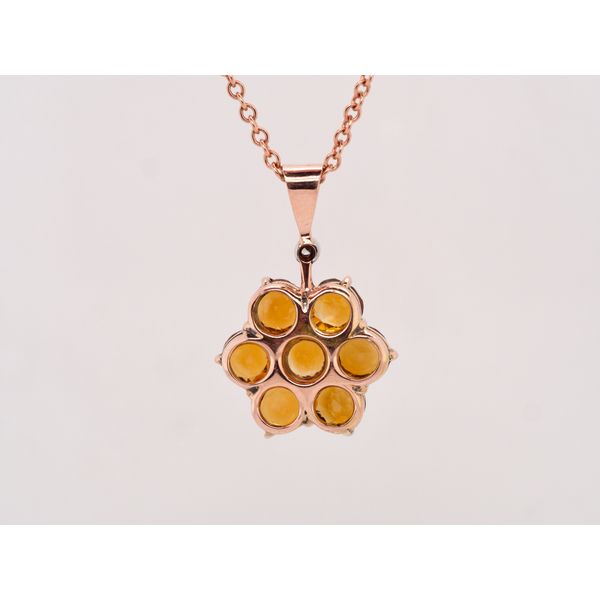 Citrine Floral Necklace  Image 2 Portsches Fine Jewelry Boise, ID