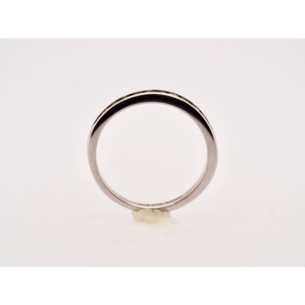 Channel Set 10k White Gold Ring  Image 2 Portsches Fine Jewelry Boise, ID
