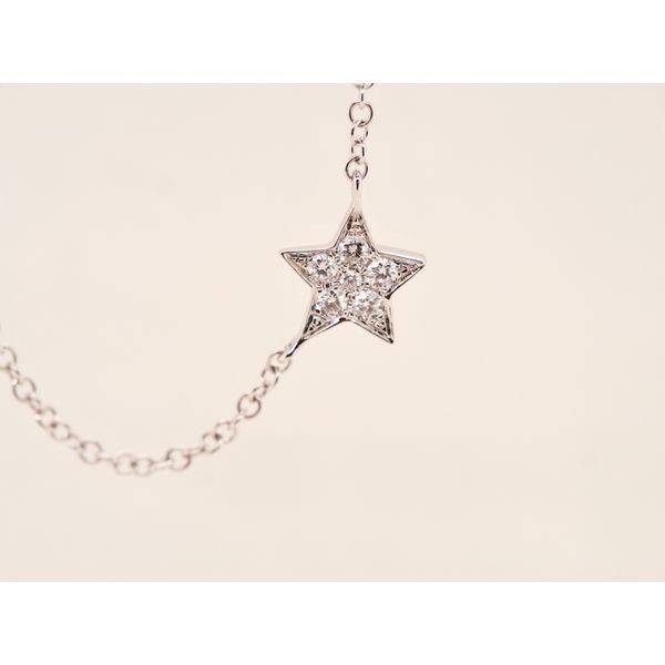 Moon & Star Diamond Necklace  Image 2 Portsches Fine Jewelry Boise, ID