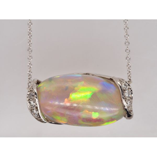 10.82ct Australian Opal Necklace Portsches Fine Jewelry Boise, ID