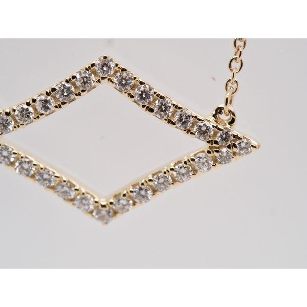 Geometric Diamond Shaped Necklace Image 2 Portsches Fine Jewelry Boise, ID