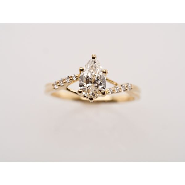 Pear Shaped Diamond Ring  Portsches Fine Jewelry Boise, ID