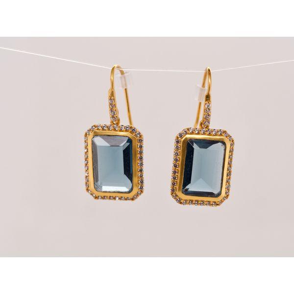 Blue Crystal Drop Earrings Portsches Fine Jewelry Boise, ID