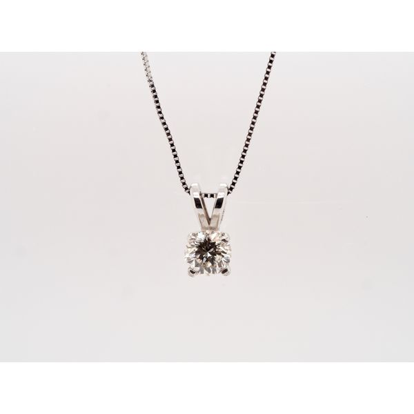 Solitaire Diamond (0.40ct) Pendant  Portsches Fine Jewelry Boise, ID