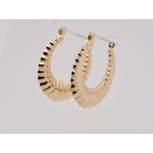 Croissant Earrings  Portsches Fine Jewelry Boise, ID