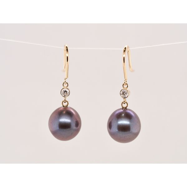 Tahitian Pearl and Diamond Drops  Portsches Fine Jewelry Boise, ID