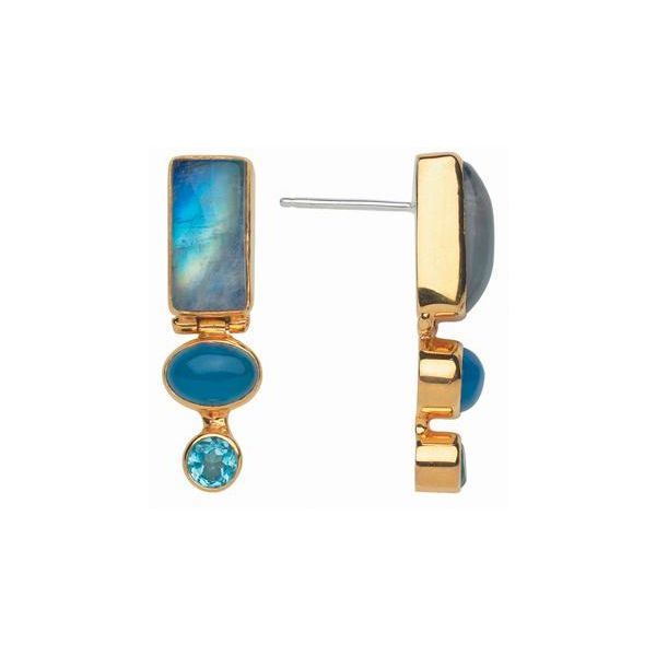 Rainbow Moonstone Earrings Johnny's Lakeshore Jewelers South Haven, MI