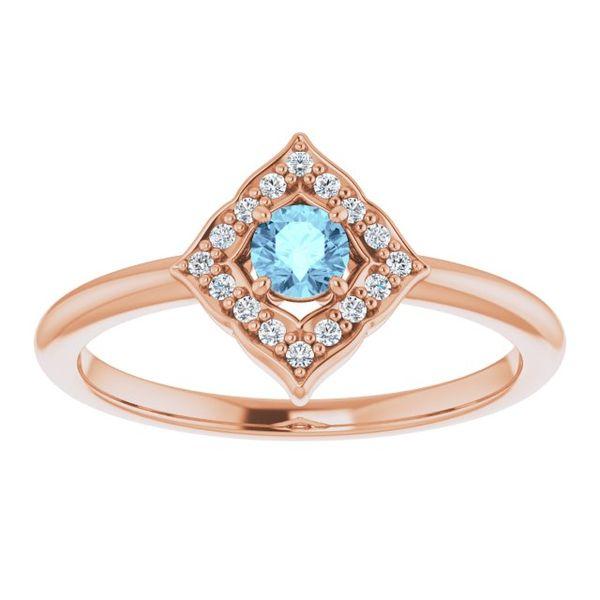 Blue Diamond Ring Johnnys Lakeshore Jewelers South Haven, MI