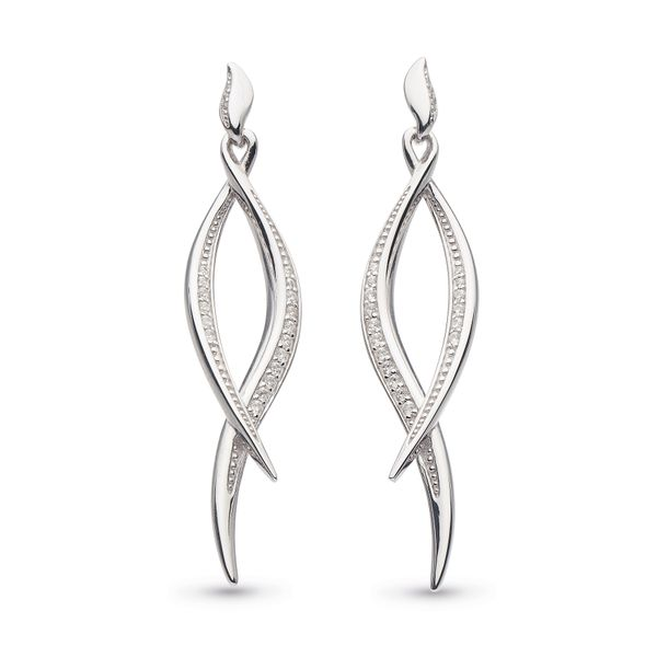 Silver Entwine Earrings Johnnys Lakeshore Jewelers South Haven, MI