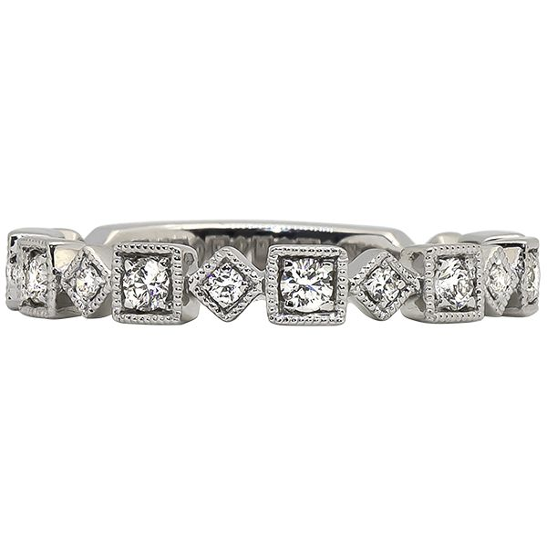 Diamond Stackable Band Johnnys Lakeshore Jewelers South Haven, MI
