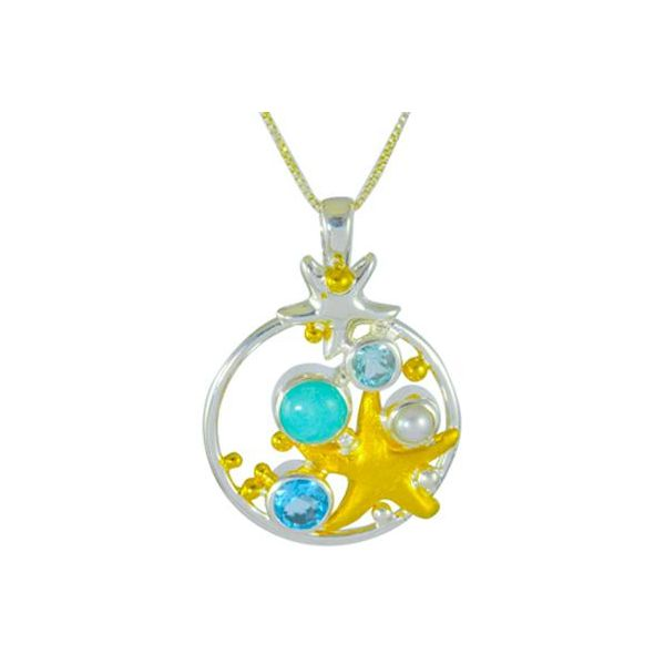 Starfish Pendant Johnnys Lakeshore Jewelers South Haven, MI