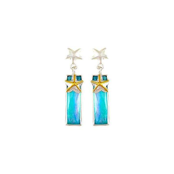 Starfish Bar Earrings Johnny's Lakeshore Jewelers South Haven, MI