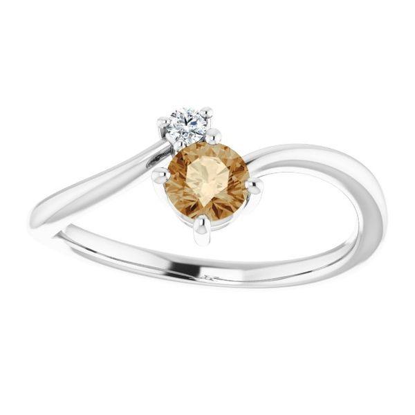Champagne Diamond Fashion Ring Johnny's Lakeshore Jewelers South Haven, MI