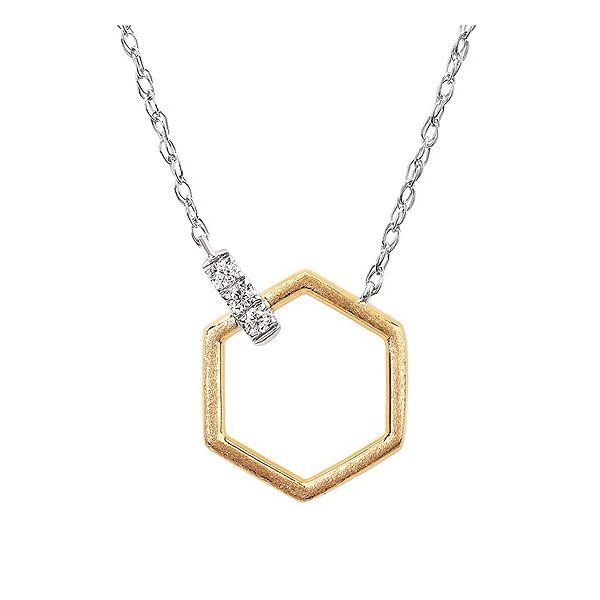 Geometric Diamond Pendant Johnnys Lakeshore Jewelers South Haven, MI