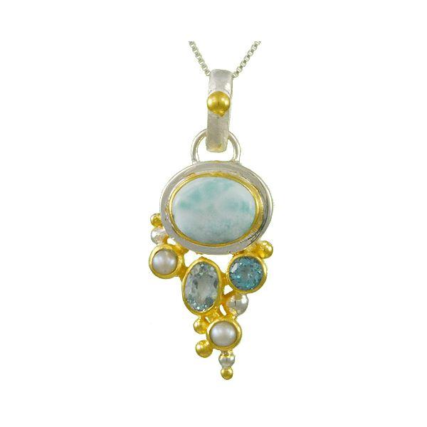 Larimar Pendant Johnnys Lakeshore Jewelers South Haven, MI