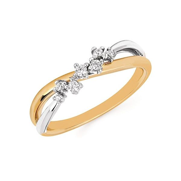Two Tone Diamond Fashion Ring Johnnys Lakeshore Jewelers South Haven, MI