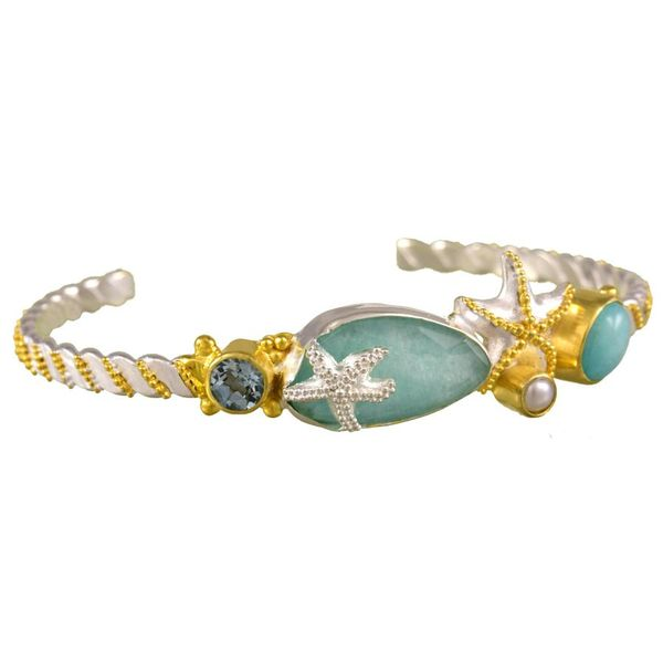 Sealife Cuff Bracelet Johnny's Lakeshore Jewelers South Haven, MI