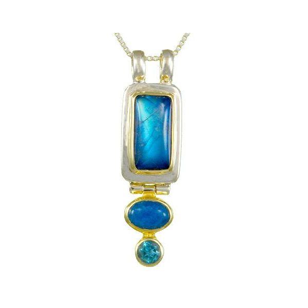 Rainbow Moonstone Pendant Johnny's Lakeshore Jewelers South Haven, MI