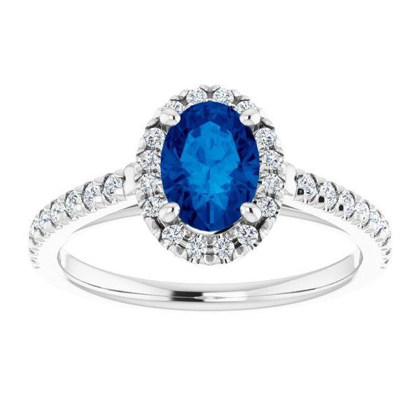 Sapphire and Diamond Ring Johnnys Lakeshore Jewelers South Haven, MI