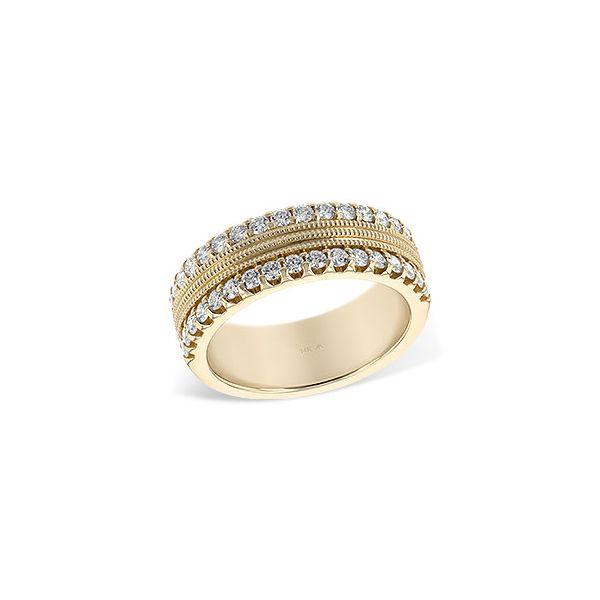 14K Yellow Gold Diamond Band JWR Jewelers Athens, GA