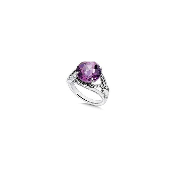 Sterling Silver and Amethyst Ring JWR Jewelers Athens, GA