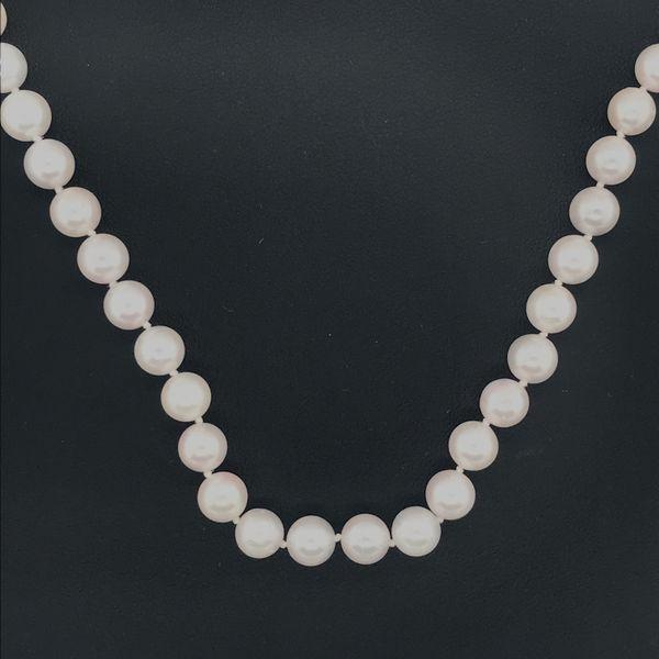 14K White Gold Cultured Pearl Strand JWR Jewelers Athens, GA
