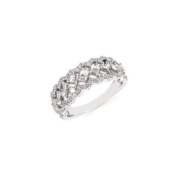 14K White Gold Diamond Fashion band JWR Jewelers Athens, GA