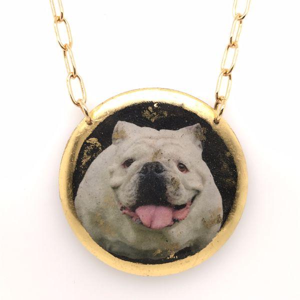 Evocateur Bulldog Necklace JWR Jewelers Athens, GA