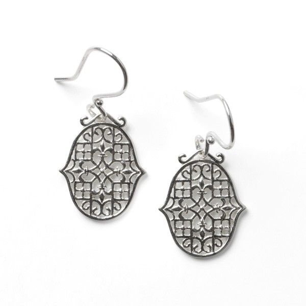 Sterling Silver Biltmore Series Earrings JWR Jewelers Athens, GA