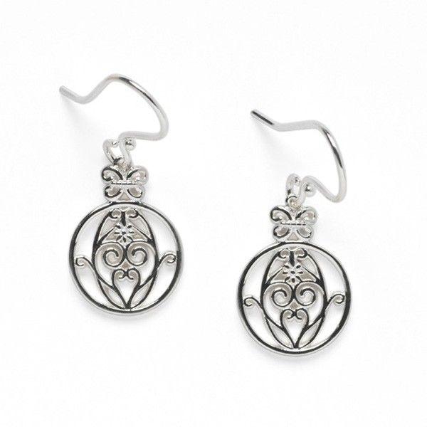 Sterling Silver Biltmore Series Earrings JWR Jewelers Athens, GA