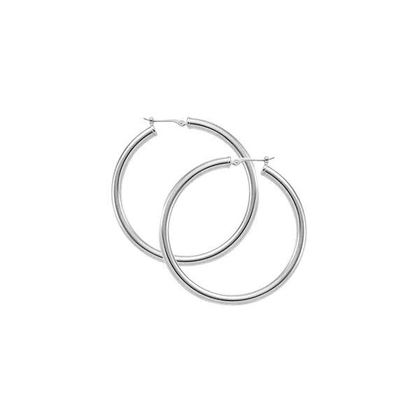 SS Hoop Earrings JWR Jewelers Athens, GA
