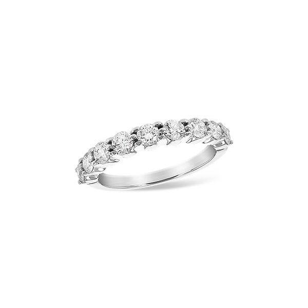 14K White Gold Diamond Band JWR Jewelers Athens, GA
