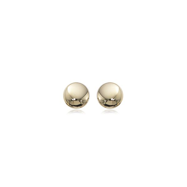 14-Karat Yellow Gold Earring Studs JWR Jewelers Athens, GA